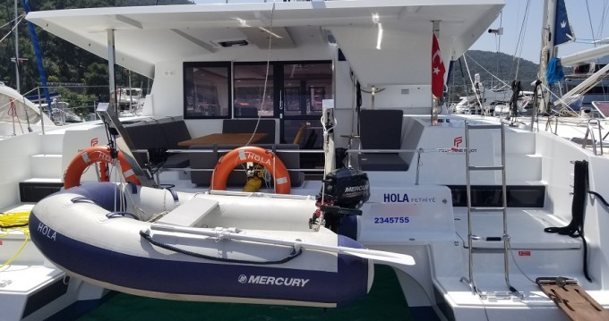 Rent a Fountaine Pajot Lucia 40 Fethiye