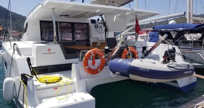 Rental Catamaran in Fethiye - Fountaine Pajot Lucia 40