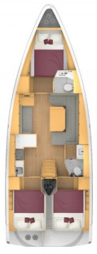 Rental yacht Sukošan - Bavaria Bavaria C42 on SamBoat