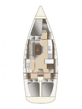 Boat rental Sukošan cheap Dufour 375 GL