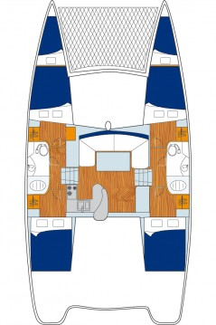 Boat rental Male cheap Leopard 384 - 4 + 2 cab.