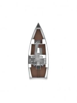 Bavaria Cruiser 37 between personal and professional Baška Voda