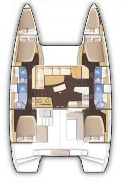 Rental Catamaran in Alimos - Lagoon Lagoon 42