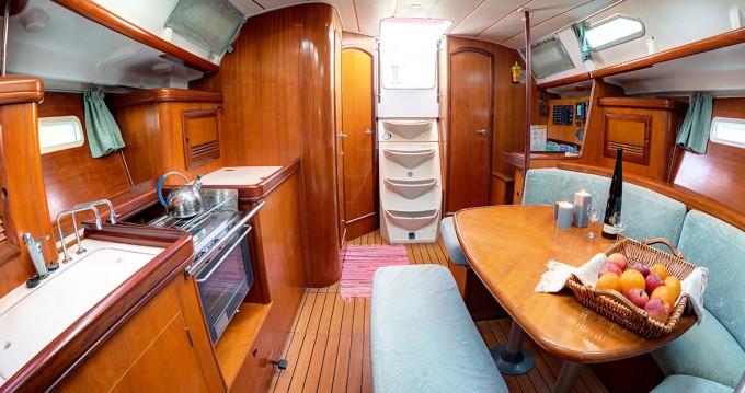 Boat rental Syros (Island) cheap Oceanis 393 Clipper