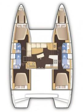Rental Catamaran in Orhaniye - Lagoon Lagoon 42
