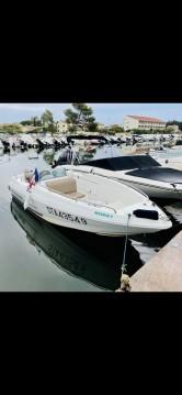 Rental Motorboat in Hyères - Quicksilver Quicksilver 500 Open