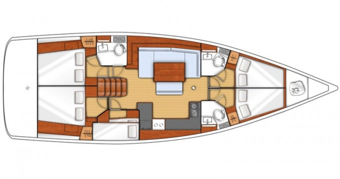 Rental yacht Puntone - Bénéteau Oceanis 48 on SamBoat