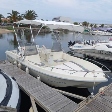 Hire Motorboat with or without skipper Ultramar Agde
